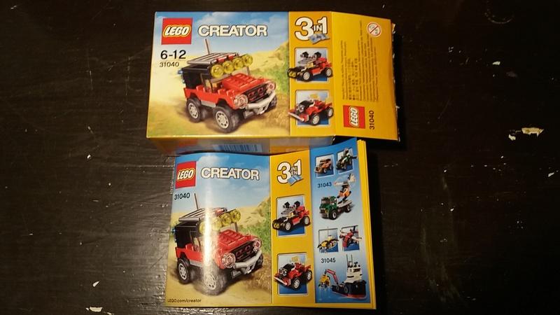 CERCO - ACQUISTO   LEGO SET E MINIFIGURES 20170810