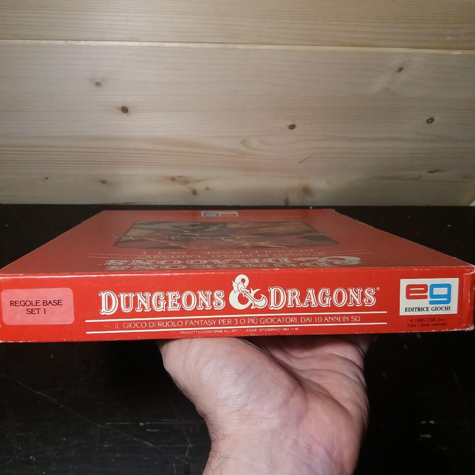 DUNGEONS & DRAGONS SET BASE EDITRICE GIOCHI 1985 EDIZIONE ITALIANA 20180714