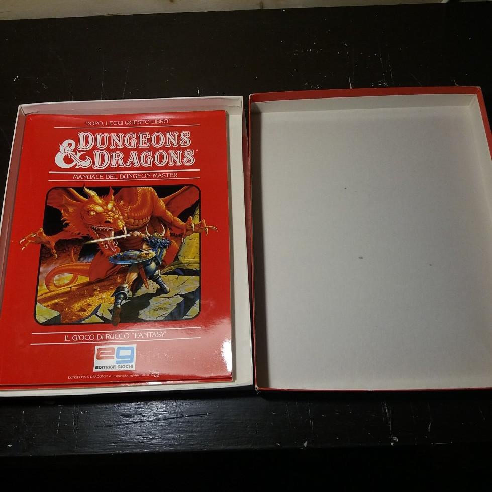 DUNGEONS & DRAGONS SET BASE EDITRICE GIOCHI 1985 EDIZIONE ITALIANA 20180718