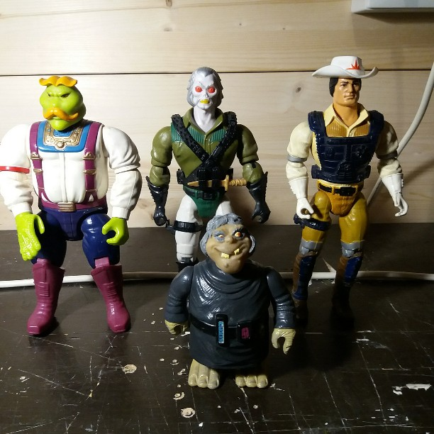 ***CERCO***      BRAVESTARR - KENNER GHOSTBUSTERS - ARCO OTHER WORLD 20190311