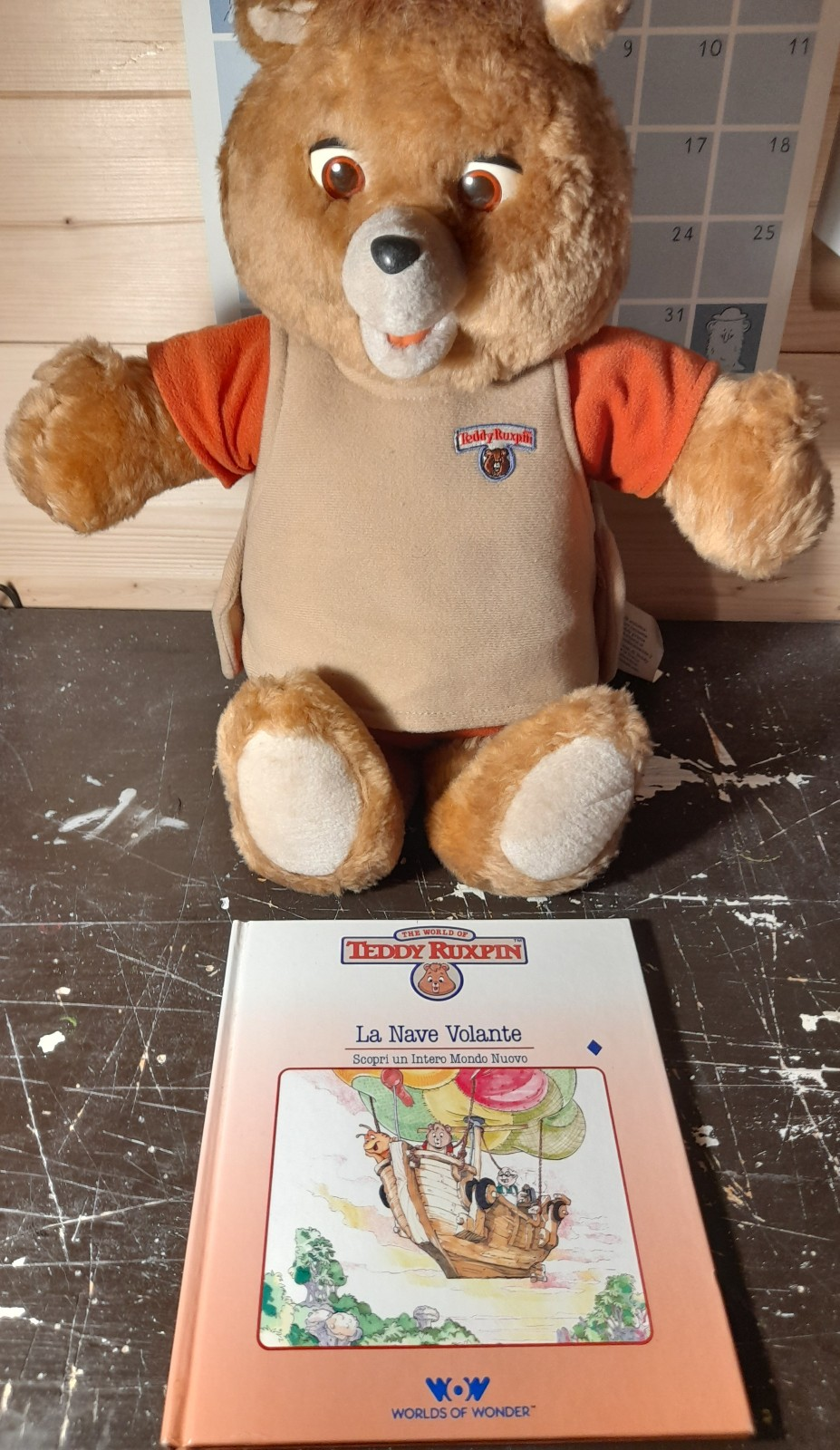 TEDDY RUXPIN ANNO 1985 WOW WORLDS OF WONDERS 20210710