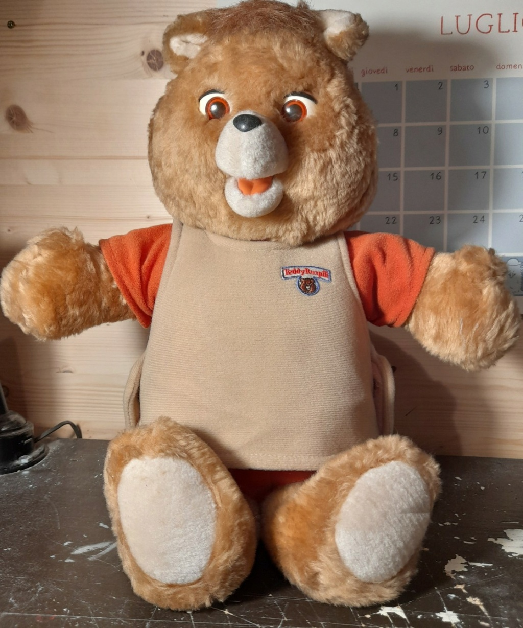 TEDDY RUXPIN ANNO 1985 WOW WORLDS OF WONDERS 20210712