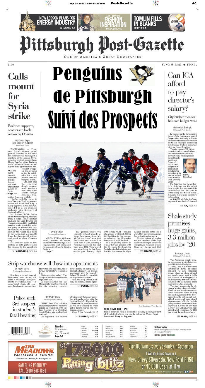 Pittsburgh Post Gazette - Page 3 Journa10