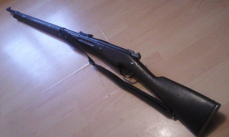Fusil 1907-15 (fusil Berthier) Photo031