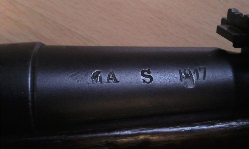 Fusil 1907-15 (fusil Berthier) Photo041