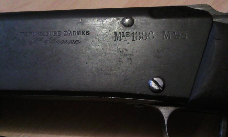 "Fusil 1886-93, dit ""fusil Lebel"" Photo074"
