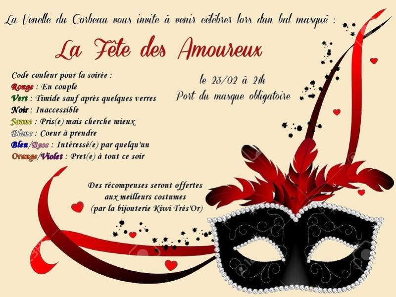 Bal masqué pour la fête des amoureux Bal-st11
