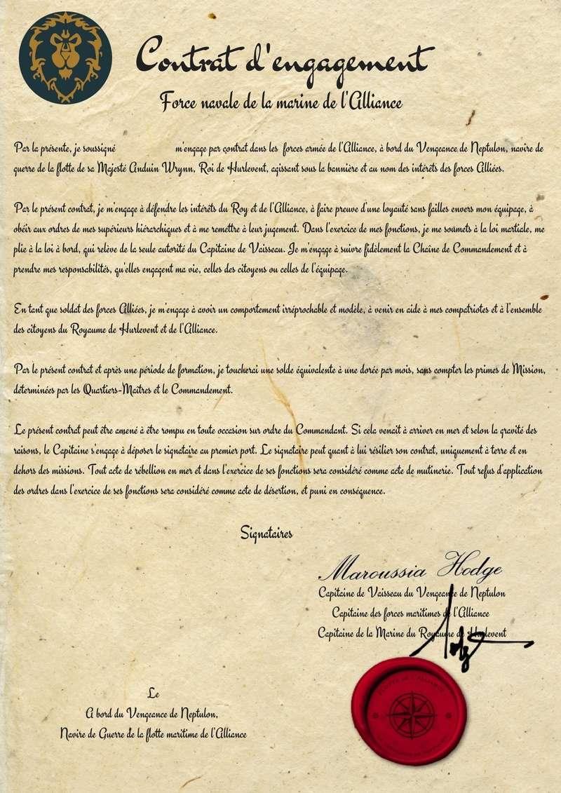 Contrat type d'engagement Savonn11