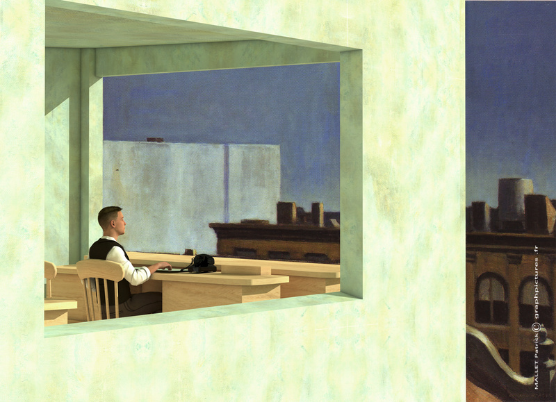 Inspiration Edward Hopper Bureau11