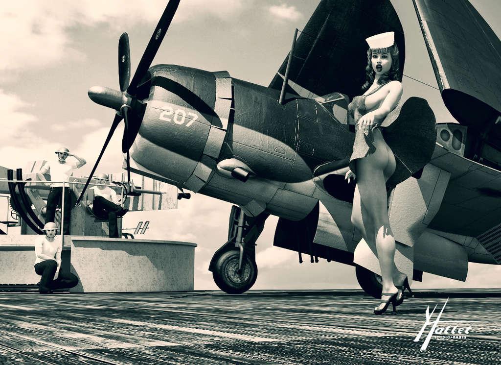 delires pin up et avions - Page 4 Canon_10