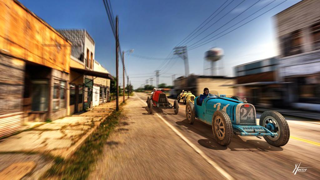 les voitures Course10