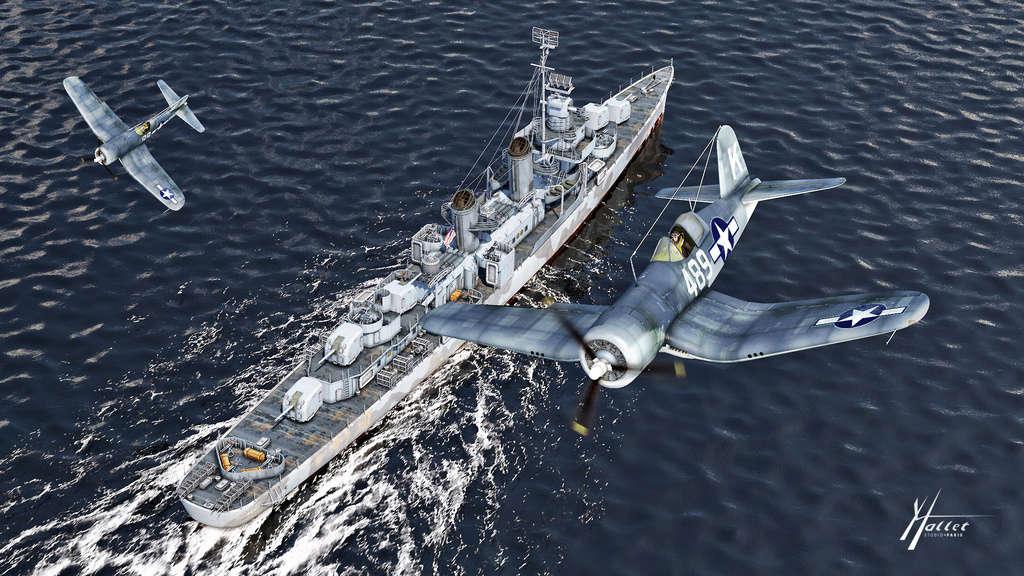UUS class Fletcher et F4u Fletch10