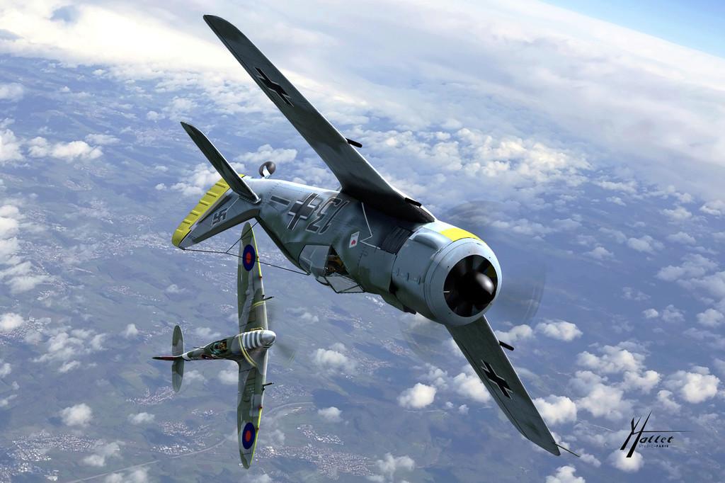 spitfire au dessus de la Manche Scene_11