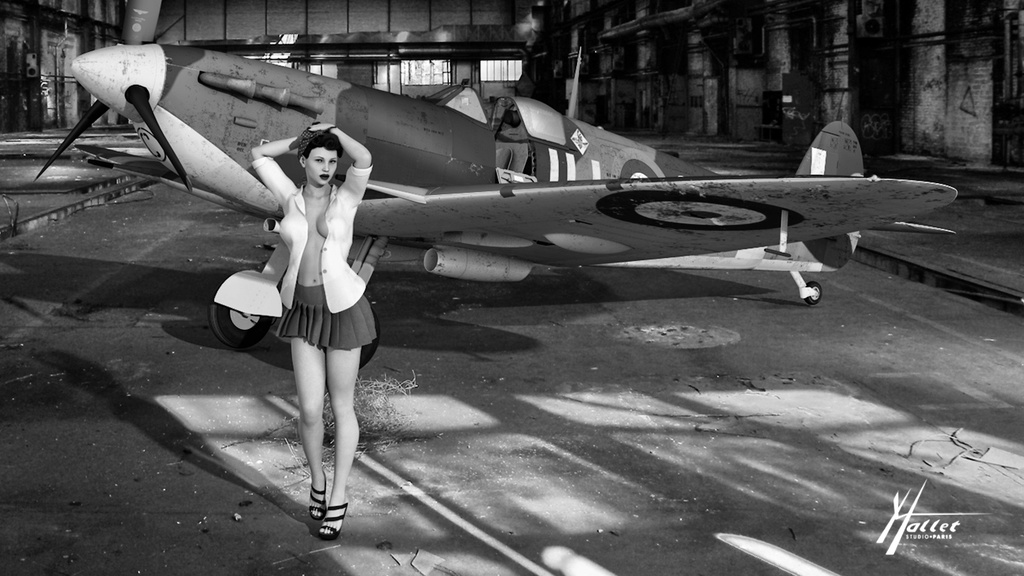 delires pin up et avions - Page 4 Spitfi10
