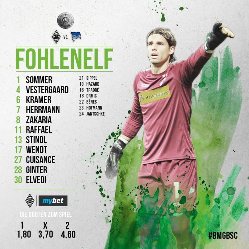 29. Spieltag: Borussia gegen Tante Hertha aus der Hauptstadt 30226410