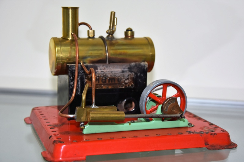 Wilesco D100E Steam Engine Mamod_10
