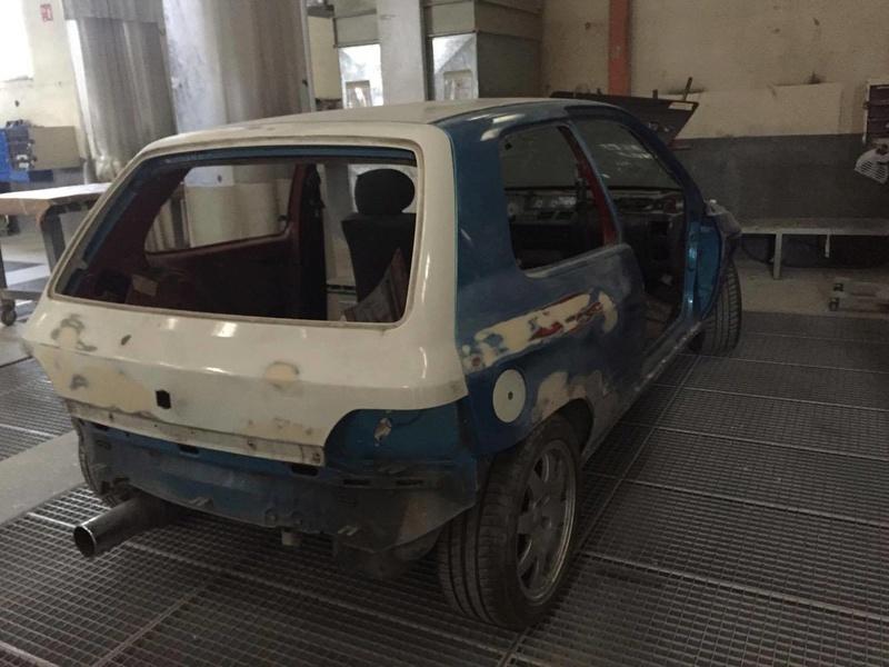 Nouvelle titine: Clio 16s 1991 4411