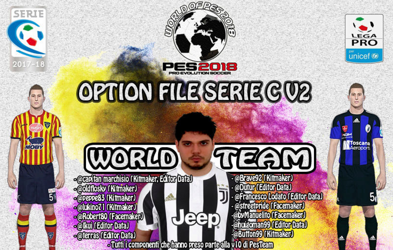 [Patch] Option file Series C V3 - PES 2018 World_10