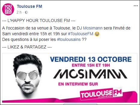 [13/10/2017-15/19h] Toulouse FM -  L'Happy Hour   Casque10