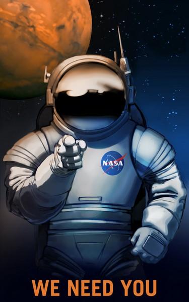 Composition de la 1ère mission humaine sur Mars P08-we11
