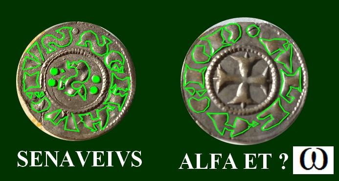 Petite monnaie italienne, Cruz y S Denier10