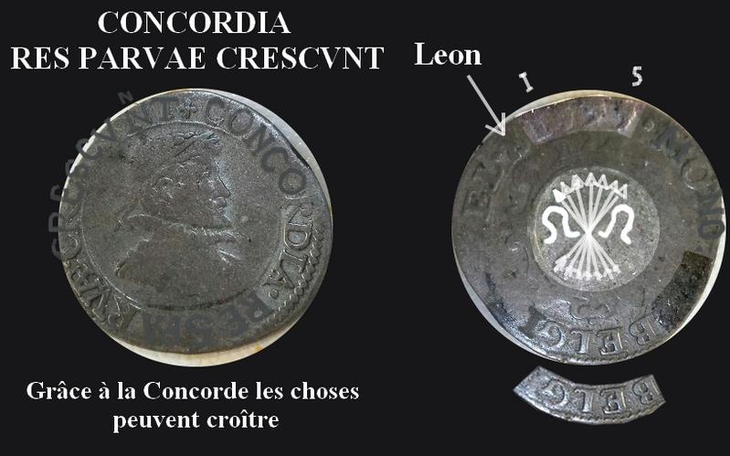 1/20e de Stoter de Leicester, 1595, République  du West-Friesland (1581-1795) ... Jeroni27