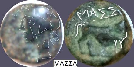 Petit bronze de Marseille au taureau passant ... Jeroni34