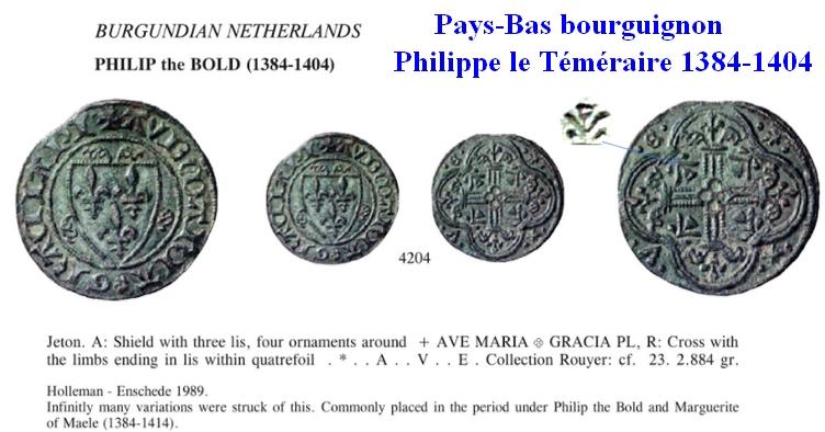 """Jeton de Tournai """"Pays-Bas Bourguignons"""" ... Jeton_10"""