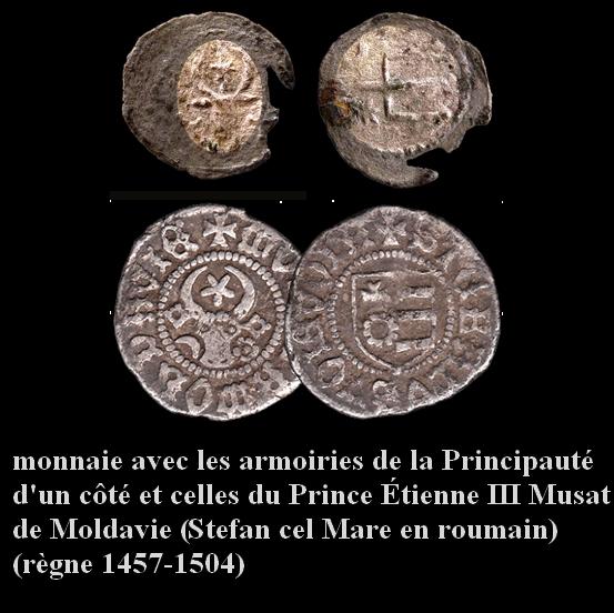 Monnaies anonyme Moldave XVème siecle. Kantch10