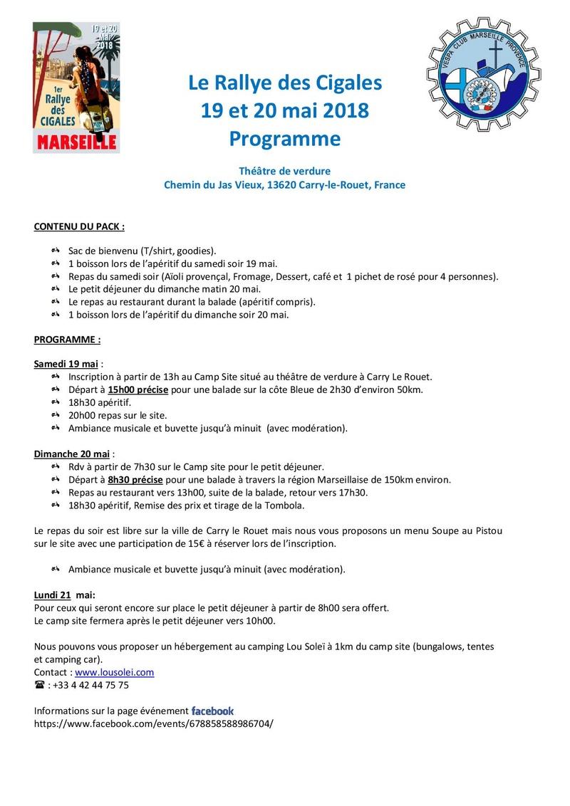 Rallye des Cigales  - Programme et Inscription  - Le_ral12