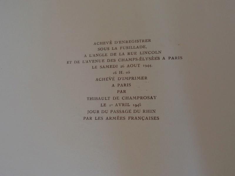 La bataille de Paris - 20-26 août 1944 S-l16010