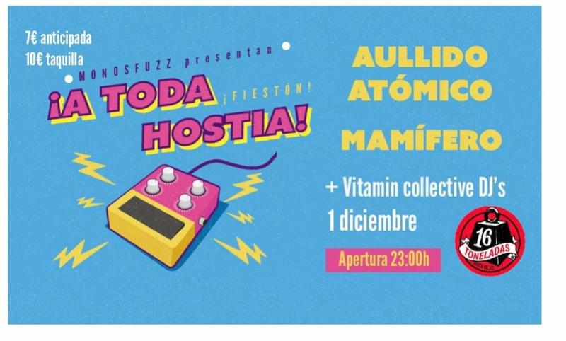 A TODA HOSTIA 1 DICIEMBRE 16 TONELADAS  Fb_img47
