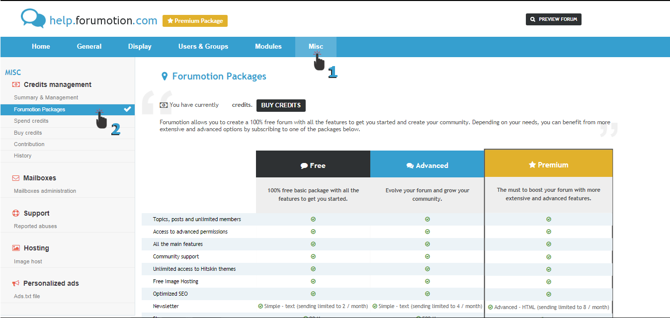 Discover Forumotion Packages: the new way to evolve your forums - Page 2 Fm11