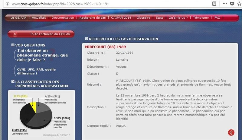 Les PAN D du Geipan - Page 16 Mireco11
