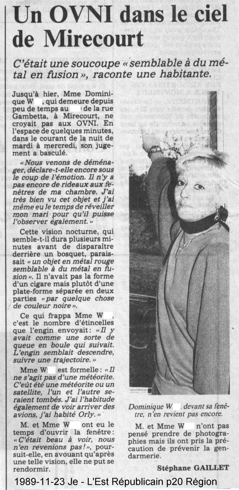 Les PAN D du Geipan - Page 16 Mireco15