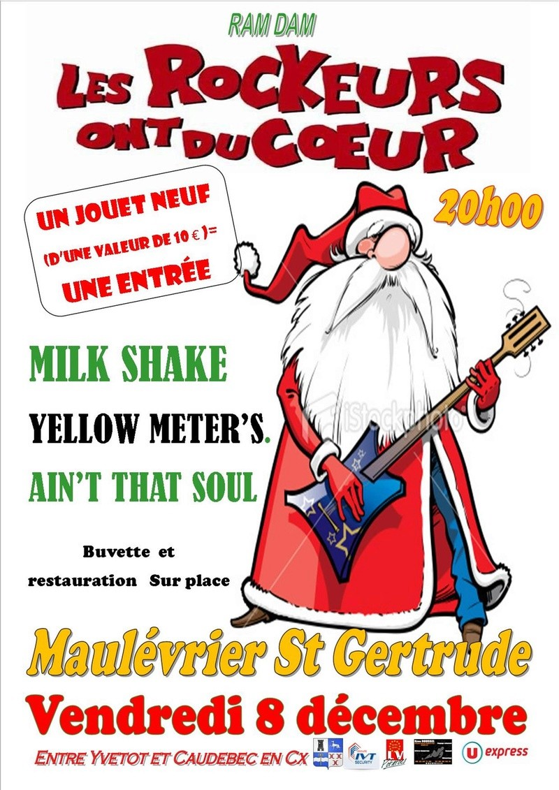 YELLOW METERS EN CONCERT 8 DEC 2017 Affich11