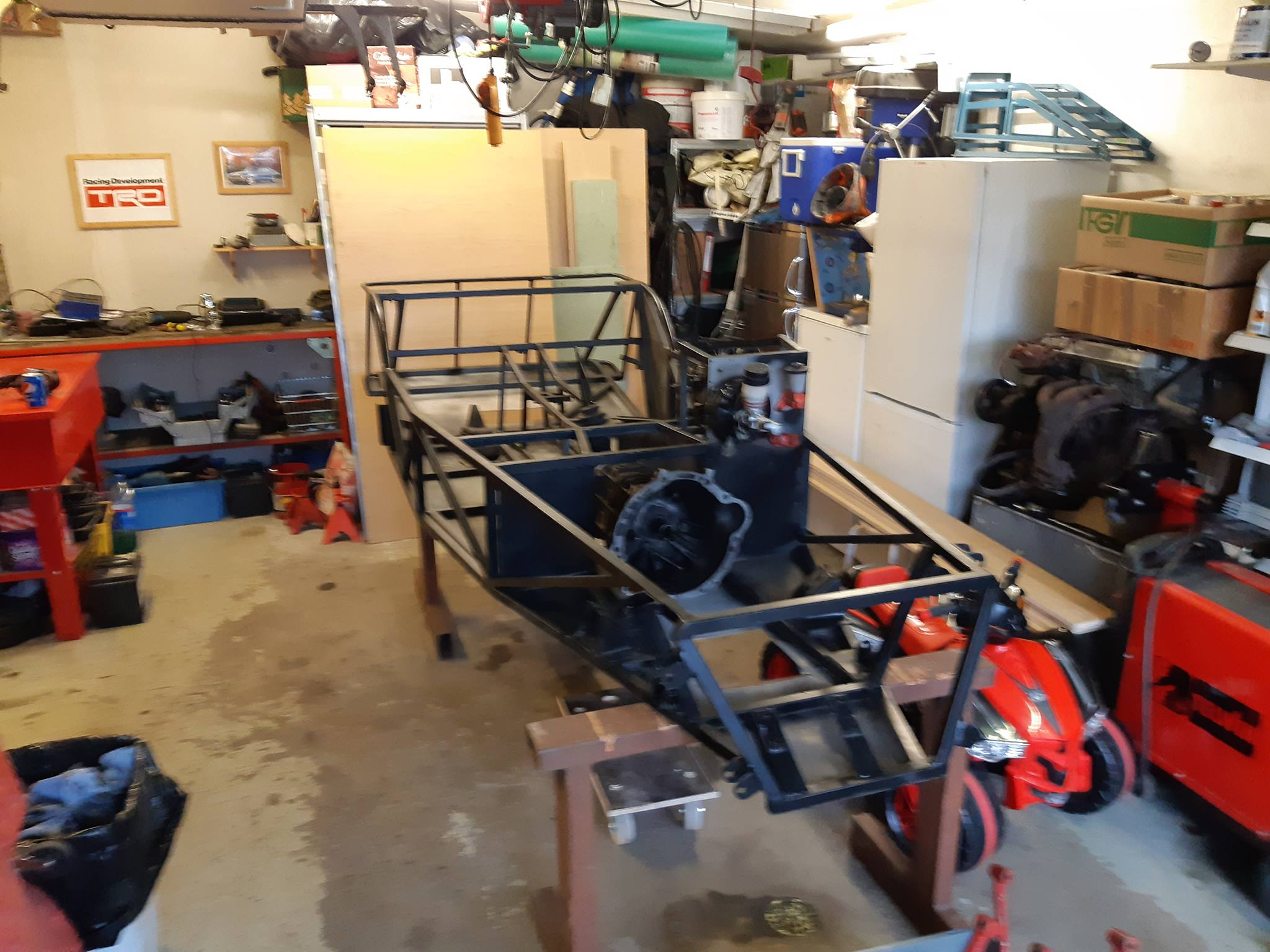 Just another corolla - DIY Caterham frame 7age and ´93 Liftback RWD - Page 8 33341410