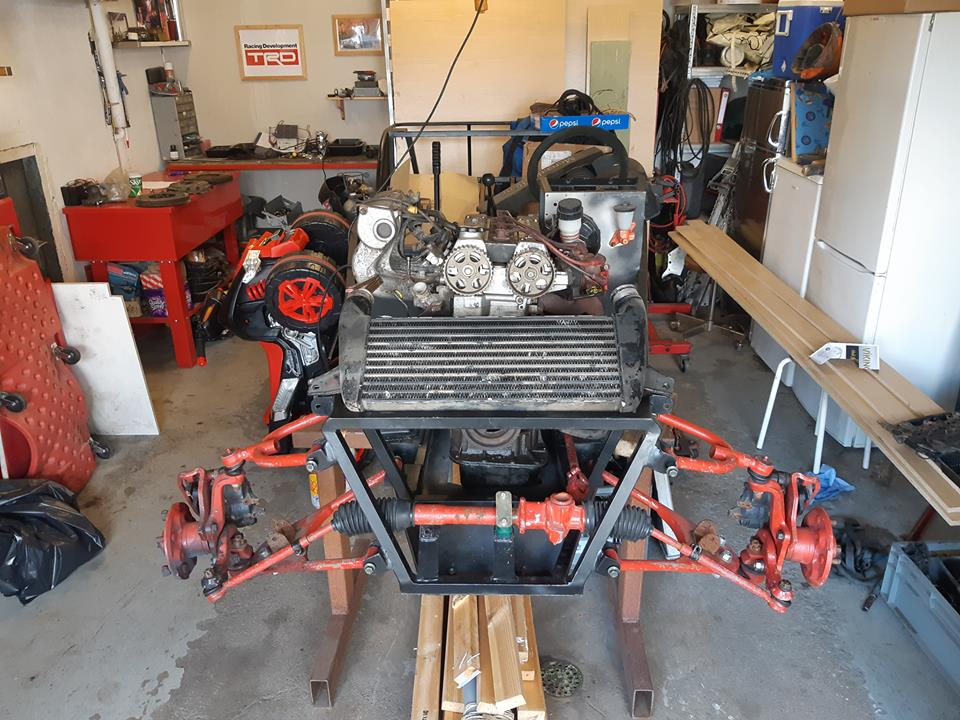 Just another corolla - DIY Caterham frame 7age and ´93 Liftback RWD - Page 9 33942210