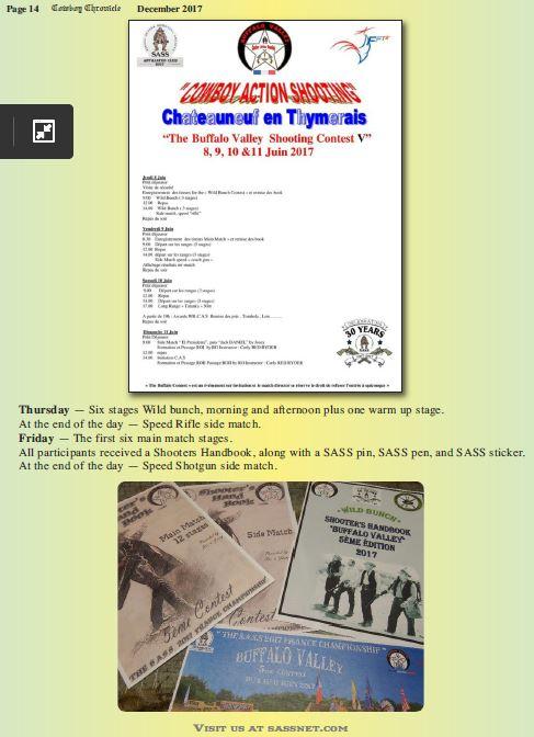 """""""BUFFALO VALLEY"""" du 8 au 11 Juin 2017 bulletin d'inscription - Page 4 1411"""