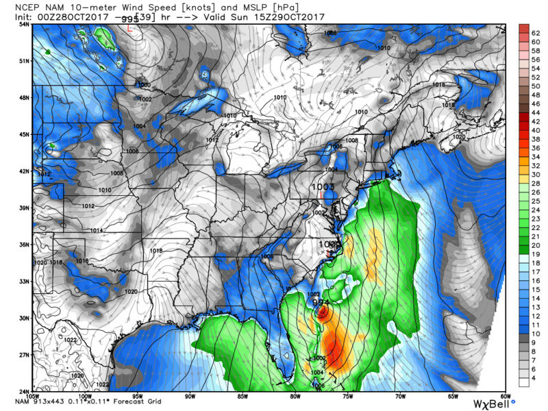 10/29 - 10/30 Nor'Easter - Page 4 Nam_ms10
