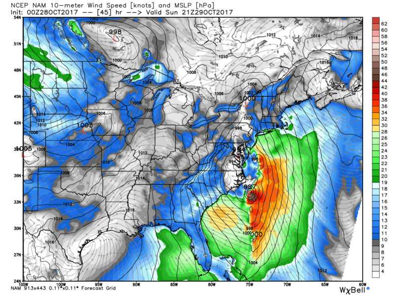 10/29 - 10/30 Nor'Easter - Page 5 Nam_ms11