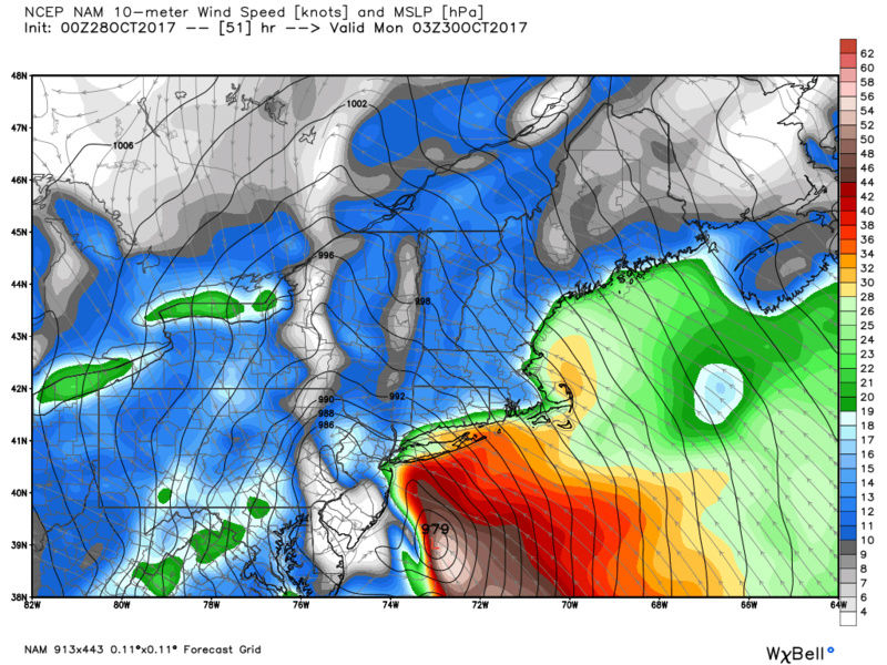 10/29 - 10/30 Nor'Easter - Page 5 Nam_ms12