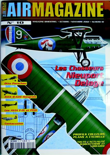Un tagazou au 1/32 qui sort des sentiers battus : le Ni-D 52 seul de son genre à l'échelle (à ma connaissance !). Air_ma10