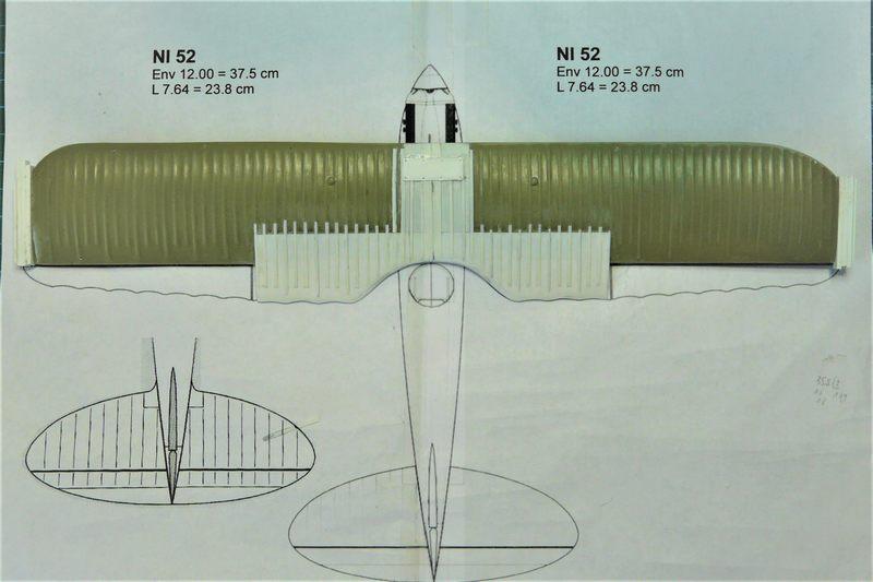 Un tagazou au 1/32 qui sort des sentiers battus : le Ni-D 52 seul de son genre à l'échelle (à ma connaissance !). Extrad10