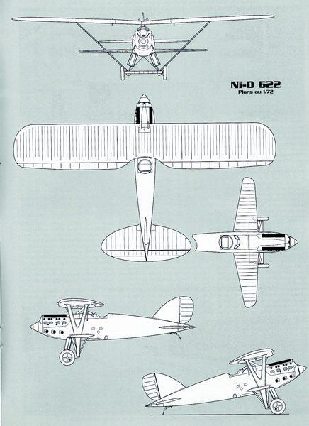 Un tagazou au 1/32 qui sort des sentiers battus : le Ni-D 52 seul de son genre à l'échelle (à ma connaissance !). Plan_n10