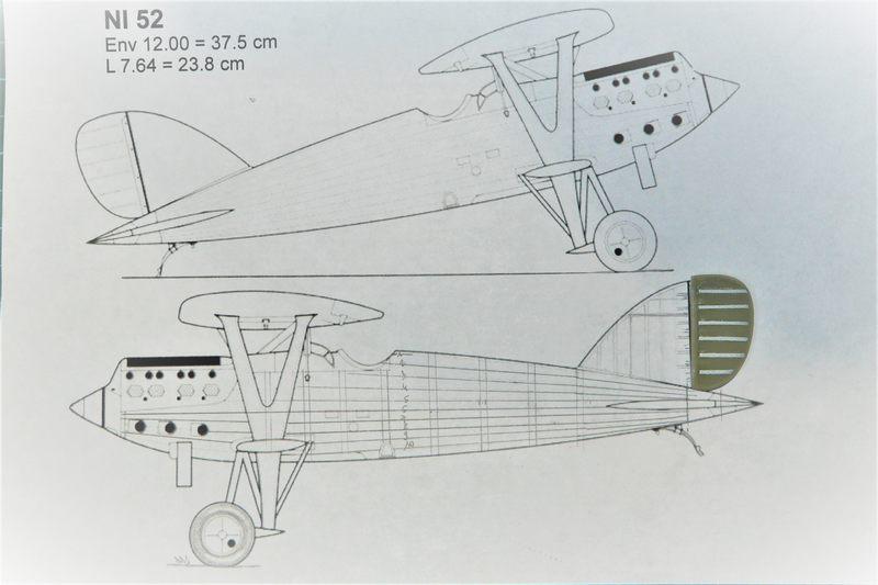 Un tagazou au 1/32 qui sort des sentiers battus : le Ni-D 52 seul de son genre à l'échelle (à ma connaissance !). Profil11