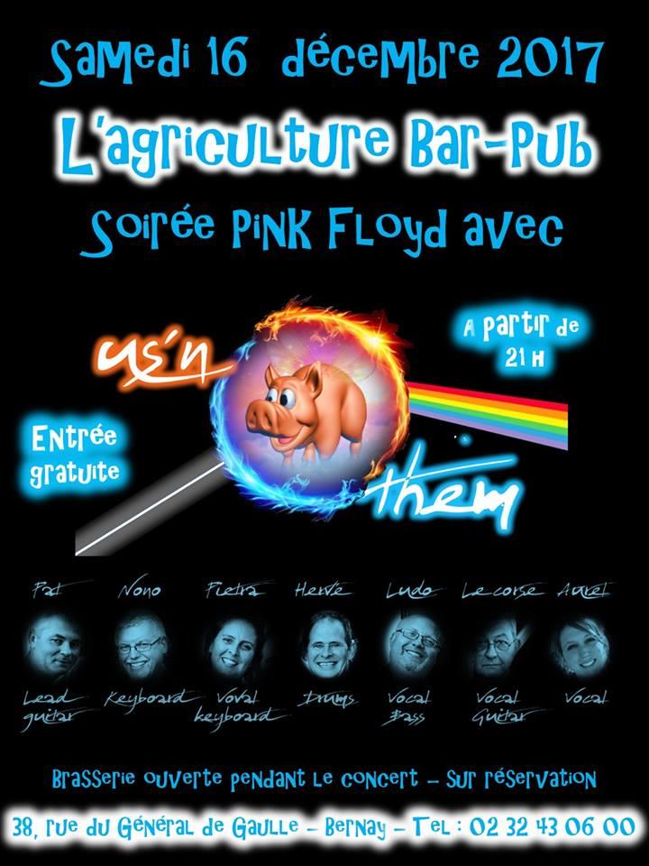 Concert Pink Floyd gratuit à Bernay (Eure) Affich11