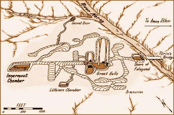 Cité de Nargothrond Nargot10
