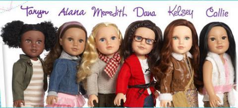 Comparatif anciens et nouveaux modèles Jouney GIrls : Meredith, Chavonne, Callie, Kyla - mise à jour 10/12 ♥ 2011_j10