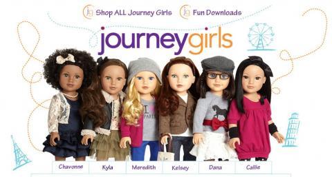 Comparatif anciens et nouveaux modèles Jouney GIrls : Meredith, Chavonne, Callie, Kyla - mise à jour 10/12 ♥ 201310